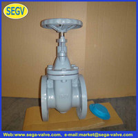 API 600 Cast Steel Rising Stem Gate Valve