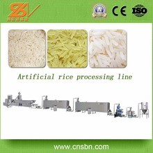 Broken rice reused manufacturer puffed rice machine,extruded rice processing line,Nutritional Rice Processing Line