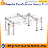 Roof lighting truss system,stage truss for events