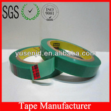 Green Polyester Silicone Tape 3M 851ST with High Property