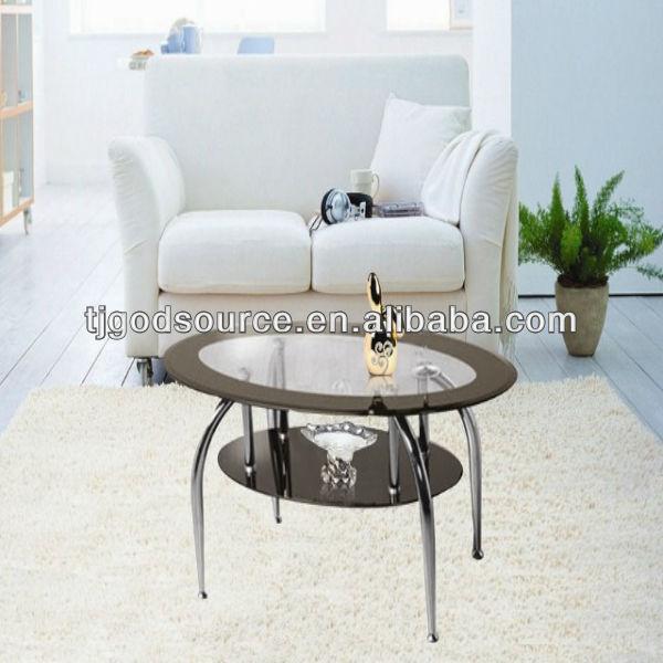 cheap iron glass table