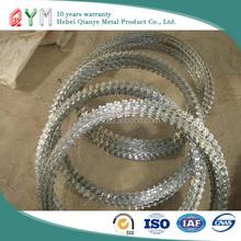 Alibaba china supplier electric galvanized concertina razor wire