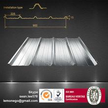 tipo de material para techos de hoja para la casa prefabricada