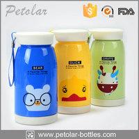 DIY hand-made pattern plastic water bottle