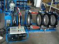 630 hydraulique butt machine de soudure