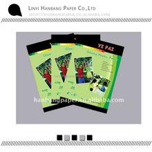 self-adhesive high glossy inkjet A4 photo paper