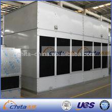 Metal cross flow cooling tower drift eliminators