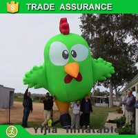 Custom giant inflatable advertising chicken