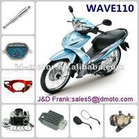Hot saled China WAVE partes de motocicleta