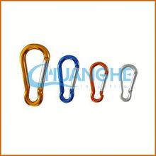 made in china stainless carabiner spring parachute snap hooks wholesale