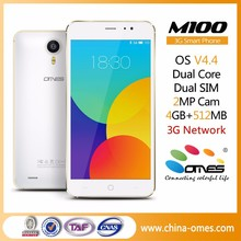 "Good price M100 5"" 3G Android 4.4 China Manufactured mobile phone"