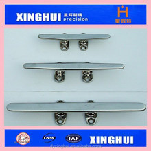 stainless steel yacht cleat- boat roap cleat