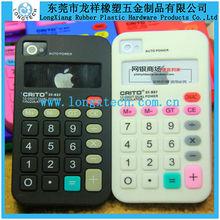 hologram silicone phone case ,calculator phone case