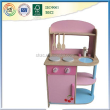 small wooden kitchen 2015 new design wooden assembly doll's toys