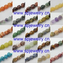 gemstone nuggest beads, 3-13mm, 16-inch per strand