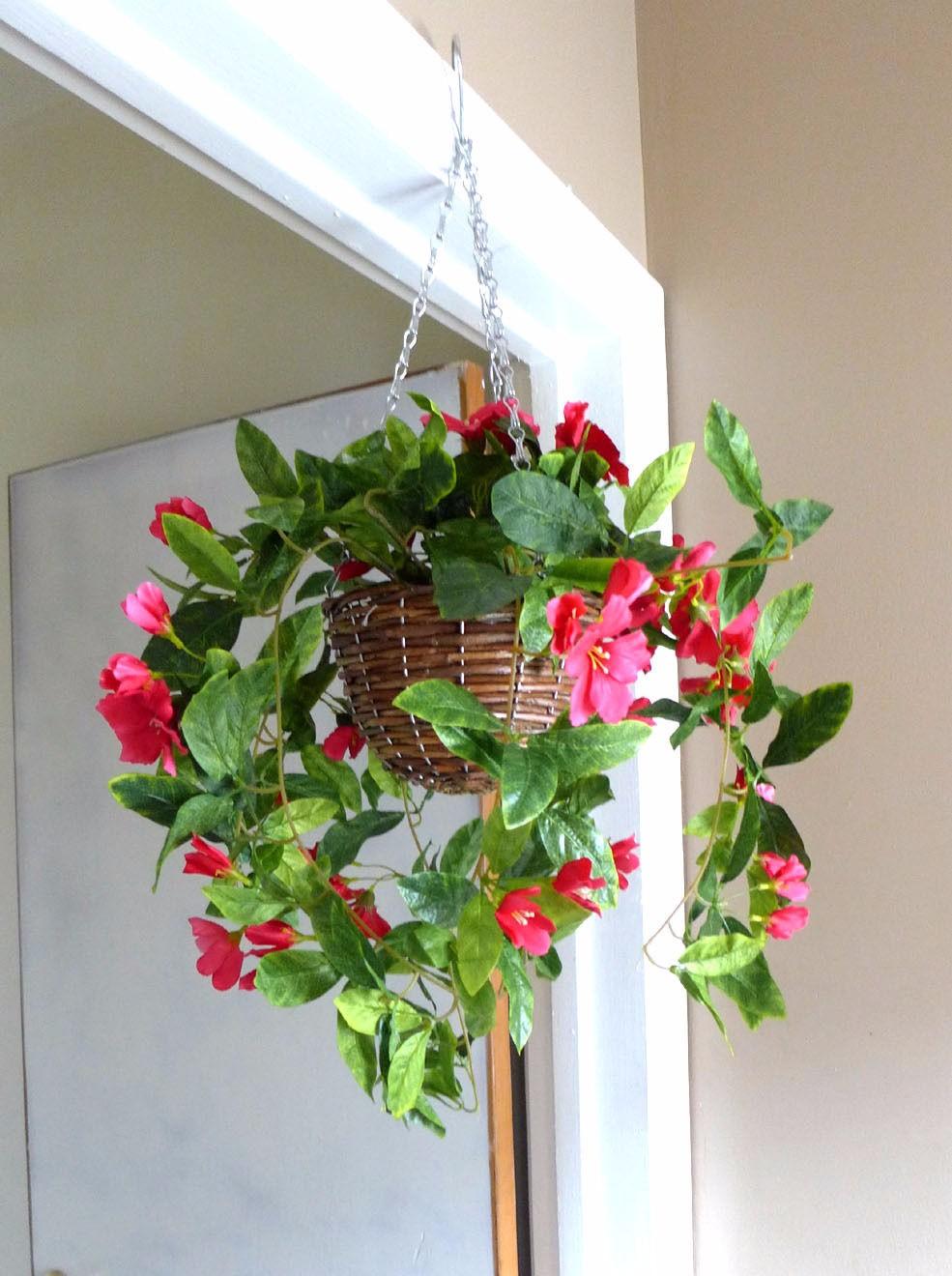 pas cher ronde en osier panier suspendu pour fleurs artificielles panier suspendu id de produit. Black Bedroom Furniture Sets. Home Design Ideas
