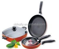 TV374-002 4 pack magical frying pan set spider pan