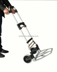 New Aluminum Folding hand trolley 300bls/moving foldable hand trolley