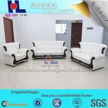European Design hotel sofa set, wholesale 1+2+3 sofa leather set