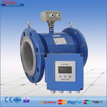 4 - 20mA signal output split type in line electromagnetic flow meter water