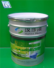 18L tin bucket for chemical/oil/adhesive/paint pail with lid and handle