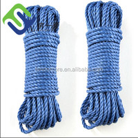 Colored 3 Strands PE Rope,Poly Rope,Clothes Line