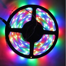 5V digital flexible dream color 5050 waterproof rgb led strip with Ic cut by every 1led addressable led pixel strip