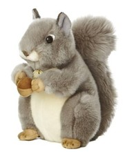 "8""Plush Huggably Soft Squirrel/Plush Lovely Squirrel/Soft Stuffed Animal Toy Realistic Squirrel"