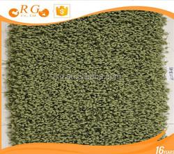 bedroom hairy custom nonslip exhibition plain woven floor mats