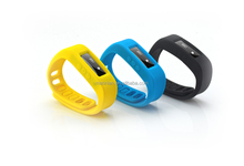 FASHION CHARMING 3d sensor bluetooth wristband pedometer,activity track sleep monitor