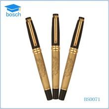 2015 hot logo promotional new arrivals metal ballpoint pen , roller pen