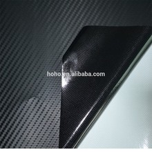 hq 3 3d mil de carbono de vinilo negro