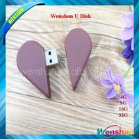 Heart Chocolate shape USB Valentine's day gifts Food USB pen drive 8GB