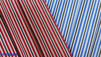 stock 100% cotton stripe for shirt