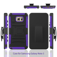 Super Belt Clip Combo Holster 3 In 1 Case For Galaxy Note 5