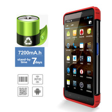 7inch handheld IOT phone with Android OS/Barcode scanner/RFID/NFC/Quad-Core/Dual-SIM/Wifi/Bluetooth/3G
