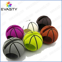 Newest silicone basketball speaker for iPhone 5C/5S