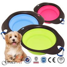 Dog collapsible Water Bowl / Raised Dog Feeder