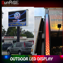 2015 Alibaba New Product P10 Outdoor Led display with full color Strong against impact Outdoor Led Display with easy maintenance