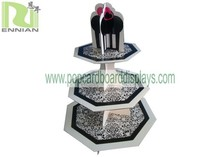 Fashion design Cupcake Cardboard Counter Displays stands for retail