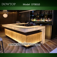 2015 Glossy classic design commercial bar counter for sale
