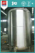 Professional insulated semi-luster polish stainless steel storage tank aseptic liquid filing vessel chemical engineering