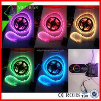 2012 hot-sale IP67 SMD5050/3528 color changing led strip rgb