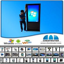 Network 1080p Advertising Digital Signage Media Player / Digital Signage Kiosk /outdoor double-sided digital signage