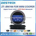 """ZESTECH 7"""" Para BMW Mini Cooper Dvd del Coche/Para BMW Gps del Coche/Para Mini Cooper Dvd Gps del Coche Radio Bluetooth"""
