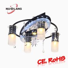 modern simple crystal home ceiling lights
