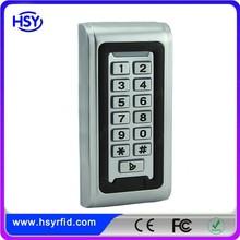 HSY-S212W IP68 waterproof door acces control with card reader
