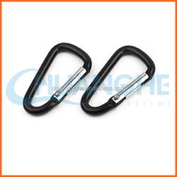 """Wholesale custom metal 2"""" carabiner d-ring"""