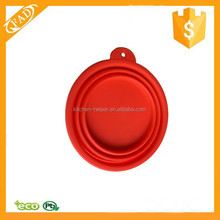 Durable Dog Cat Pet Silicone Bowl Collapsible Folding Travel