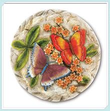 Cheap Butterfly Flower Decorative Garden Stepping Stones